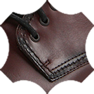 Chrome leather for shoe upper from cattle hide
